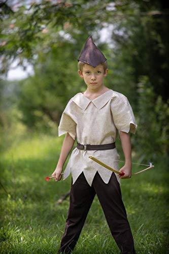 Robin Hood Halloween Costume 3 Piece Felt Dress