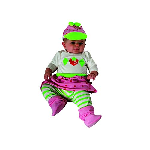 Rubie's Costume Baby Girl's Strawberry Shortcake Baby Costume, Multi, 0-6 Months -