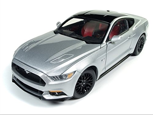 Autoworld AW237 1:18 2017 Ford Mustang GT Ingot Silver (18 Kit Cars 1)