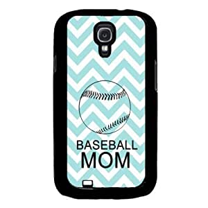 Kingsface Baseball-Mom Aqua-Zig-Zag-Cute-Hipster Samsung Galaxy S4 I9500 case cover Fits Samsung Galaxy S4 I9500 1sF029I6Ebh