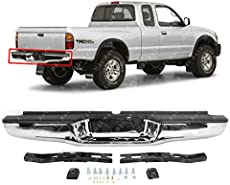 New Rear Step Bumper Assembly Steel For 1995-2004 Toyota Tacoma TO1102214