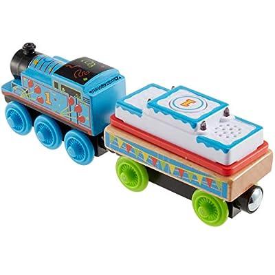Thomas & Friends Fisher-Price Wood, Birthday Thomas: Toys & Games