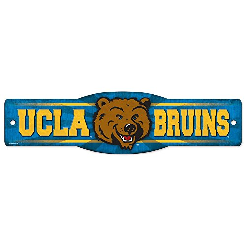 WinCraft NCAA UCLA 01198010 Street/Zone Sign, 4.5'' x 17'' by WinCraft