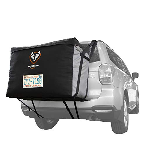 Rightline Gear Car Back Carrier, 13 cu ft, 100% Waterproof, Attaches With or Without Roof ()