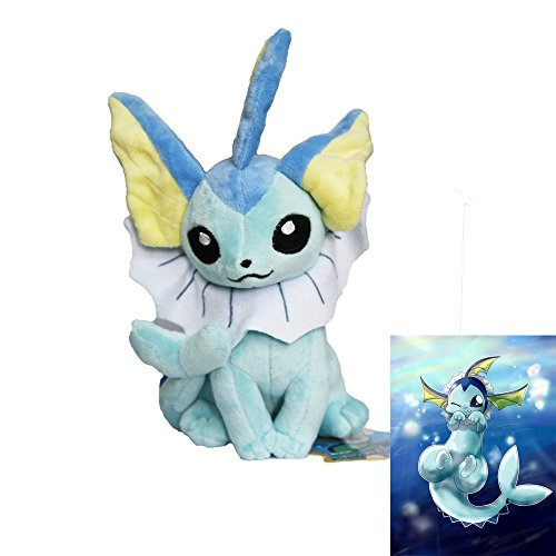 Other 2015 Peluche Pokémon originale Aquali position assise: Amazon.es: Juguetes y juegos