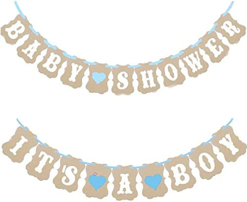 It/'s A Girl Baby Shower Bunting Party Banner Garland Photo Props Decor Sign