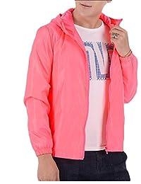 Macondoo Women Top Solid Skin Sun Protective Outdoor Jacket