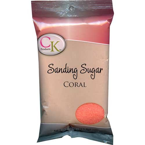 - CK Products No.1 Sanding Sugar, Coral