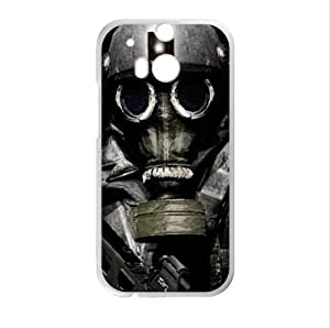 Best Custom Case - Vintage Gas Mask HTC One M8 (Laser Technology) Case, Cell Phone Cover