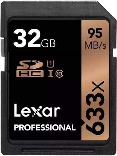 Cartão De Memoria Profissional Lexar 32gb 95mb/s
