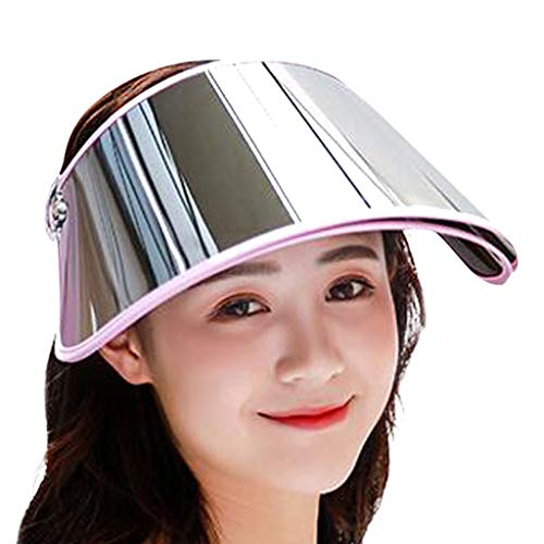 NEARTIME Unisex Sunshade Cap, 2019 New Womens Sun Protective Summer Hat Anti-UV Double Layer Outdoors Cycling Cap ()