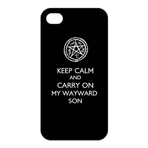 Fashion Supernatural Personalized iPhone 4 4S Rubber Silicone Case Cover
