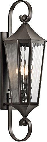 Kichler 49514OZ Rochdale Outdoor Wall 4-Light, Olde Bronze ()