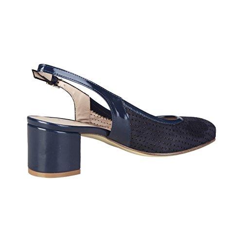 PIERRE CARDIN CW-2001 Sandalias De Vestir Para Mujer Con Correa Ajustable Tacón: 5 cm