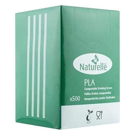 ecológico Recto Natural PLA Planta basado 100% compostables y ...