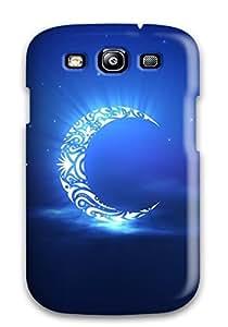 Pretty WJzzFBo6341qtPDU Galaxy S3 Case Cover/ Holy Ramadan Moon Series High Quality Case