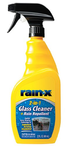 Rain-X 5071268-6PK 2-in-1 Glass Cleaner with Rain Repellent - 23 oz. (Pack of 6)