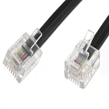 World of Data ® - Cable ADSL 30m - Calidad Premium / Gold Plated Pins /