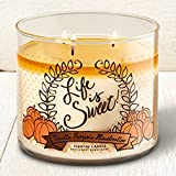 Bath & Body Works 3-Wick Candle Vanilla Pumpkin Marshmallow
