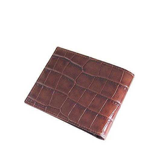 エッティンガー 短財布 メンズ CC030J-MAHOGANY ダークブラウン [並行輸入品] B076YW9S17