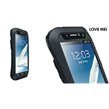 Love Mei Multifunction Upgraded Version Phone Case for Samsung Galaxy Note II (Black)