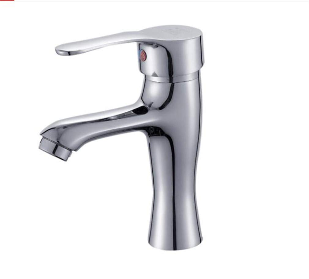 Bathroom Sink Basin Lever Mixer Tap Bathroom Faucet Cold and Hot Copper Bathroom Washbasin Toilet Basin Faucet