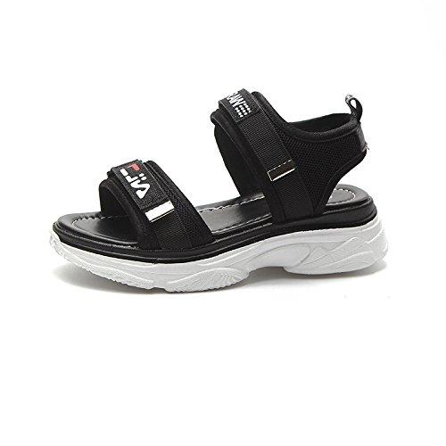 femminile sandali Fondo ventilata Thirty sandali fondo studenti sesso di spesso confortevole sandali nine Un4q8f