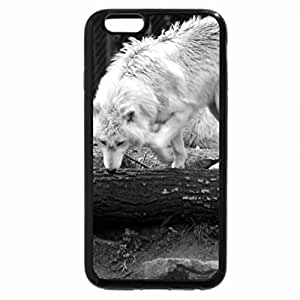 iPhone 6S Case, iPhone 6 Case (Black & White) - My Visit at the Wolfpark