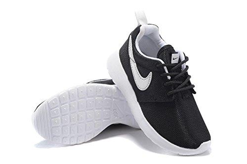 Roshe Run edad Kid Negro Deporte Al Aire Libre Correr Caminar Zapatos, Niños, negro, UK6.5=EUR23.5=14CM