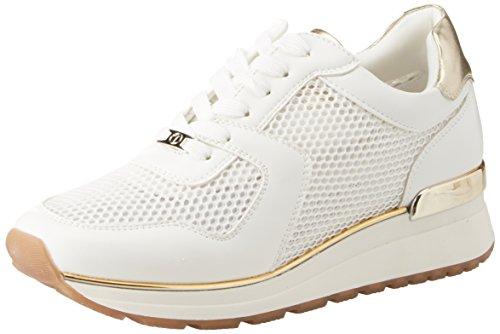 Bianco Infilare Sneaker T18321 Tata Italia Donna WwXxqSPW0t