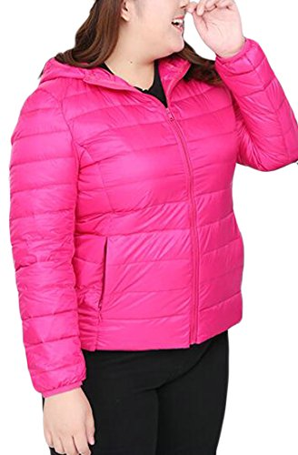 Hooded Size 2 today Down UK Short Jacket Womens Lightweight Plus wUPPTqaxY