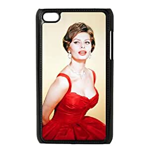 iPod Touch 4 Case Black Grace Kelly POB Awesome Phone Covers