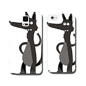 wolf cell phone cover case Samsung S6
