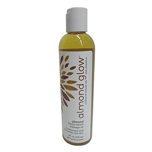 8 Oil Body Oz (Home Health Almond Glow Skin Lotion, 8 oz)