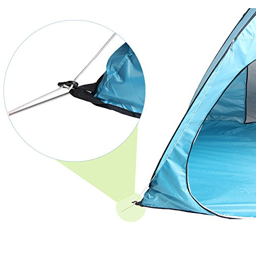Porch Light Youth Shelter: Pop Up Tent, Sunba Youth Portable Camping Tents For 3