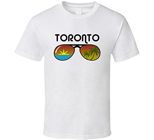 Toronto Sunglasses Favorite City Fun In The Sun T Shirt M - Toronto Sunglasses