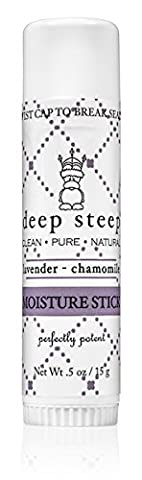 Deep Steep Moisture Stick, .5 Ounce Stick (Lavender Chamomile) - Body Lotion Deep Moisture