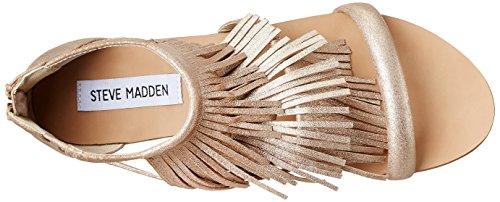 Leather Para Steve Madden Sandalias Mujer Favorit Gold 0xg0SqnwCT