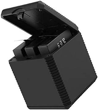 3 en 1 Caja de Batería de Carga de Cámara de Acción Cortocircuito Protección contra sobrecorriente: Amazon.es: Juguetes y juegos