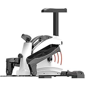NILINLEI Mini Exercise Bike Household Mute Multi-Functional Weight Loss Pedal, Fitness Equipment Thin Waist Elliptical…