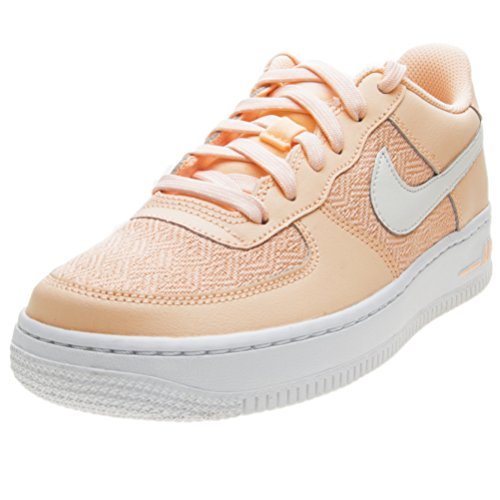 bianco Force Air Nike Lv8 School Trainers Rosa Grade Leather Youth 1 BSFqFx
