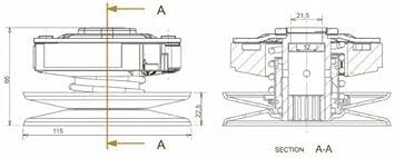 105mm 2 Backen Kupplung Wandler Für Minarelli 50ccm Z B Yamaha Aerox Jog R Neos Mbk Nitro Ovetto Aprilia Sr 50 Auto