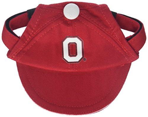 Sporty K9 Collegiate Ohio State Buckeyes Dog Cap, Small - New (Ohio Cotton Cap)