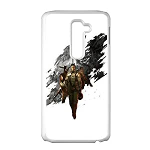LG G2 Cell Phone Case White Front Mission Yaebz