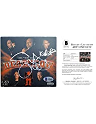 Suge Marion Knight- Snoop Doggy Dogg and Kurupt Autographed Signed Death Row Greatest Hits CD Cover with Compact Disc and BAS Beckett Authentication Letter of Authenticity COA A58689