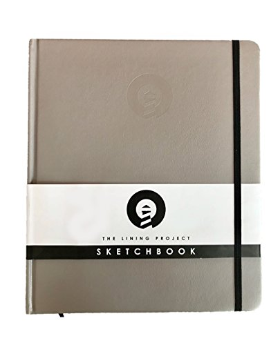 The Lining Project Premium Hardcover Sketchbook, Drawing Book, Sketch Pad, White Drawing Paper Medium, 200-pages/100-sheets Coloring Book, Drawing Pad, Large Sketchbook For Artist with 120GSM Paper