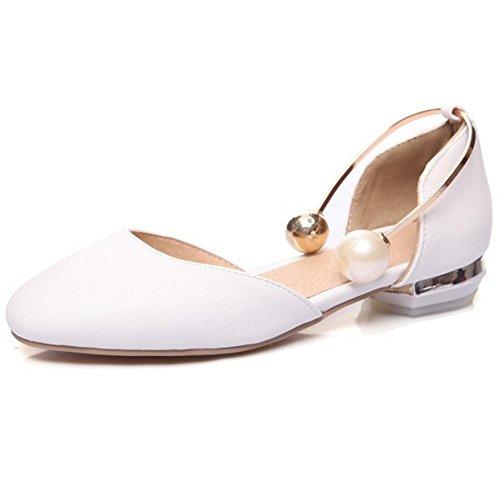 y Primavera Zapatos White Verano de RAZAMAZA Para Mujer xftqpw