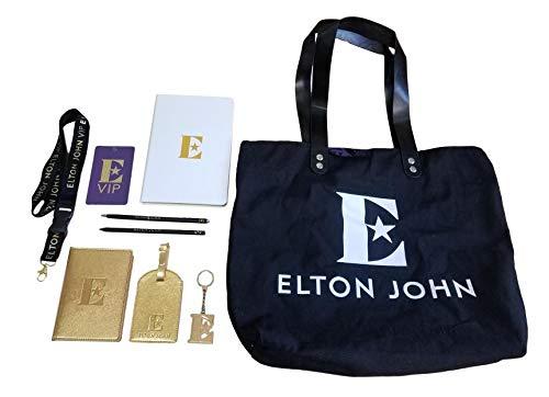 Elton John Farewell Yellow Brick Road Tour VIP Gift Bag/Swag Bag ()