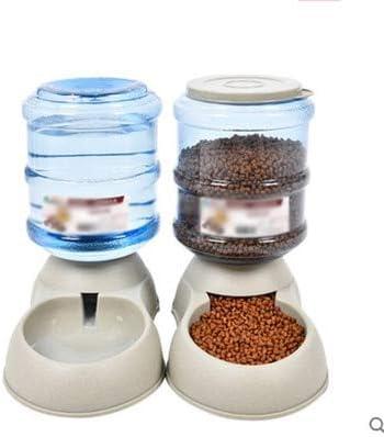 TRD distributore di Acqua per Animali Domestici e Alimentatore Pet Products Dispenser Automatico di Acqua per Animali Domestici Dispenser Automatico di Acqua 3,8 Litri di Acqua