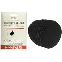Garment Guard: disposable underarm shields (5 pairs, black)
